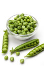 Fresh green pea Royalty Free Stock Photo