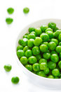 Fresh green peas. Royalty Free Stock Photography