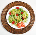 Fresh and healthy salad Royalty Free Stock Photos