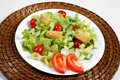 Fresh and healthy salad Royalty Free Stock Photo