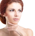 Fresh healthy skin face hygiene ana health body woman Royalty Free Stock Images
