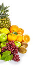 Fresh healthy tropical fruit still life Royalty Free Stock Photo