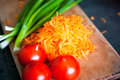 Fresh and healthy vegetable vegetables for your favorite dishes Stock Photos