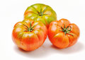 Fresh heirloom tomatoes Royalty Free Stock Photo