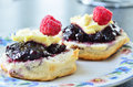 Fresh home made scones Royalty Free Stock Image