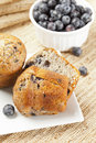 Fresh Homemade blueberry Muffin Stock Photography