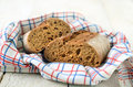 Fresh homemade bread rustic wholegrain Royalty Free Stock Photo