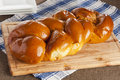 Fresh Homemade Challah Bread Stock Image