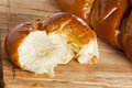 Fresh Homemade Challah Bread Royalty Free Stock Images