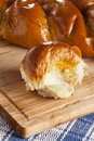 Fresh Homemade Challah Bread Stock Photography