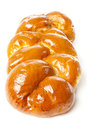 Fresh Homemade Challah Bread Royalty Free Stock Photo