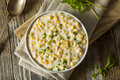 Fresh Homemade Creamed Corn Royalty Free Stock Photo