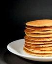 Fresh Homemade Plain Pancakes ...