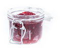 Fresh homemade Raspberry Jam Stock Image