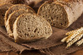 Fresh Homemade Whole Wheat Bread Royalty Free Stock Photo