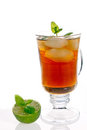 Fresh icetea drink Stock Photography