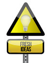 Fresh ideas concept Stock Photography