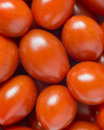 Fresh italian datterino cherry red tomato background pattern Royalty Free Stock Photos