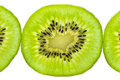 Fresh juicy kiwi fruit slice Royalty Free Stock Photo