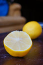 Fresh juicy lemon with a lot of vitamin c Royalty Free Stock Images