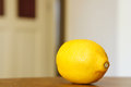Fresh juicy lemon with a lot of vitamin c Stock Photography