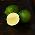 Fresh juicy limes Royalty Free Stock Photo