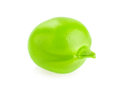 Fresh juicy seed of green pea macro Royalty Free Stock Photo