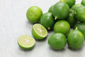 Fresh key limes Royalty Free Stock Photo