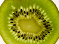Fresh kiwi fruit sliced scene Royalty Free Stock Photos