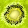 Fresh kiwi slice background Stock Photo