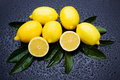 Fresh lemon fruit Royalty Free Stock Photos