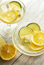 Fresh lemon juice Royalty Free Stock Photo