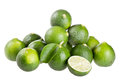 Fresh limes Royalty Free Stock Photos