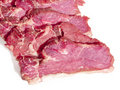 Fresh meat on a white background Royalty Free Stock Photography