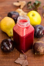 Fresh mixed fruit juice Royalty Free Stock Photo