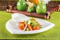 Fresh mixed vegetables salad Royalty Free Stock Photo