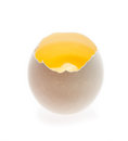 Fresh and natural egg yolk Stock Photo