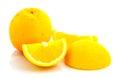 Fresh navel orange in thailand Stock Photo