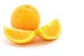 Fresh navel orange in thailand Royalty Free Stock Photo