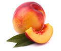 Fresh nectarine Royalty Free Stock Photo