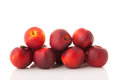 Fresh nectarines Royalty Free Stock Photo