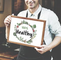 Fresh nutritious green natural heathy Concept Royalty Free Stock Photo
