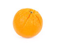 Fresh orange fruit isolated on white background Royalty Free Stock Image