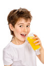 Fresh orange juice Royalty Free Stock Photo
