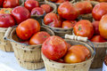 Fresh Organic Fruits and Vegetables at Farmers Market Royalty Free Stock Photo