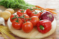 Fresh organic vegetables Royalty Free Stock Photography