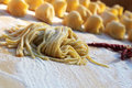 Fresh pasta Stock Images