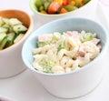 Fresh pasta salad Royalty Free Stock Photo