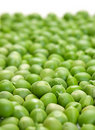 Fresh peas background Royalty Free Stock Photos