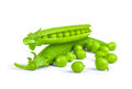 Fresh peas Royalty Free Stock Photo